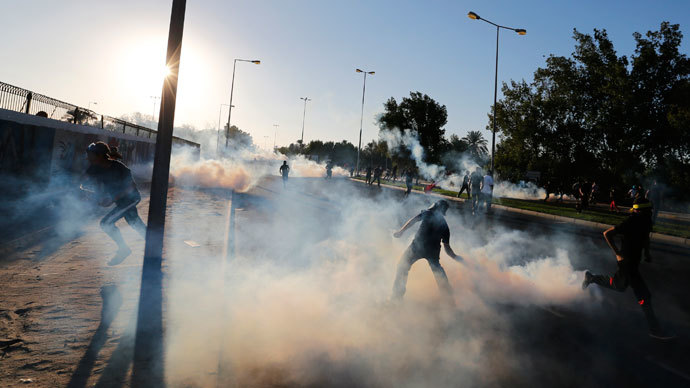 South Korea 'suspends' sales of tear gas to Bahrain over misuse fears