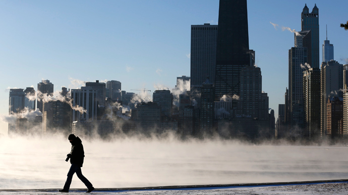 Record low temperatures in US to 'freeze' $5bn