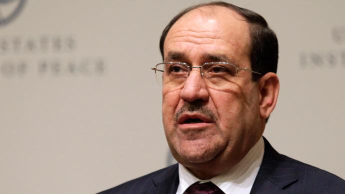 Iraqi Prime Minister Nuri al-Maliki (Reuters / Yuri Gripas)