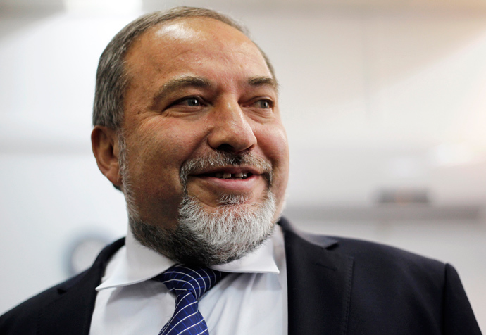 Israeli Foreign Minister Avigdor Lieberman (Reuters / Ariel Schalit)