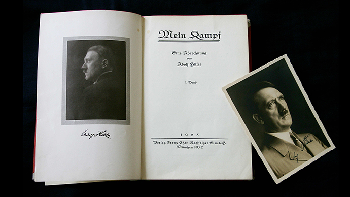 Hitler's 'Mein Kampf' becomes e-book blockbuster