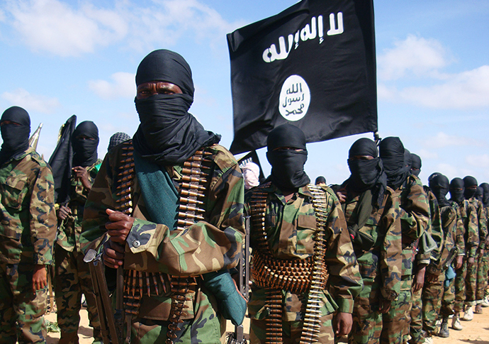 Somali Al-Shebab fighters (AFP Photo / Mohamed Abdiwahab)