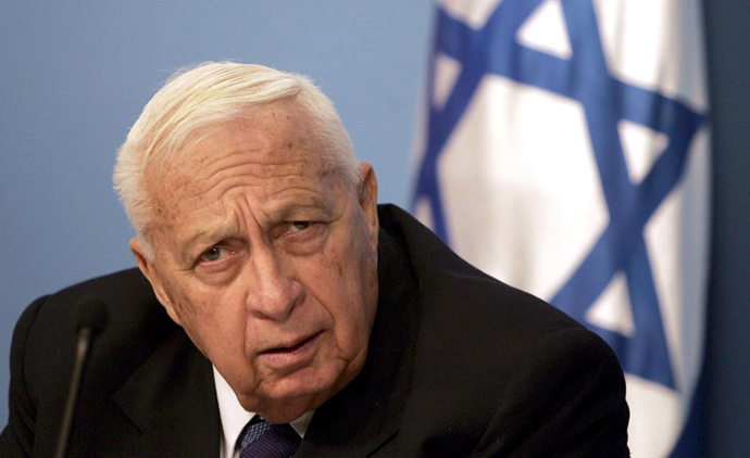 A picture taken on November 16, 2005 shows former Israeli Prime Minister Ariel Sharon (AFP Photo / Menahem Kahana)