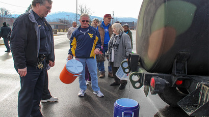 West Virginia chemical tests improve but water still undrinkable