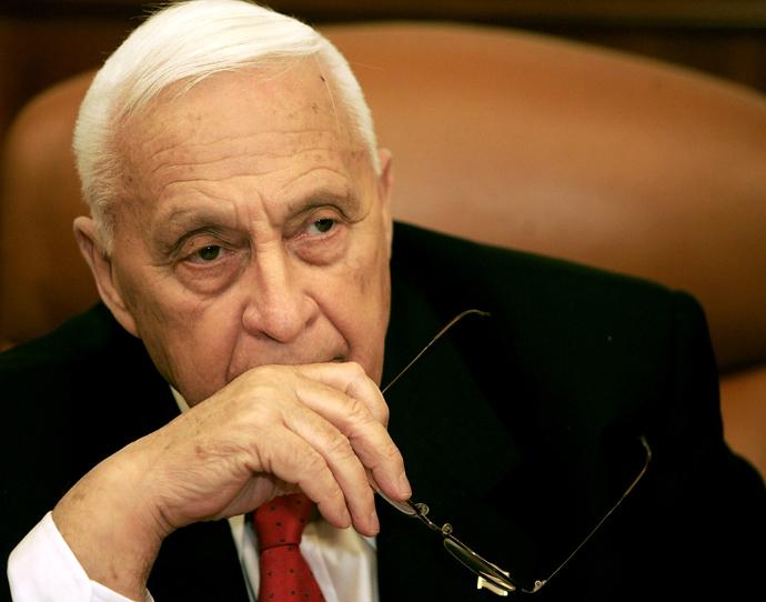 Ariel Sharon (Reuters / Eliana Aponte)