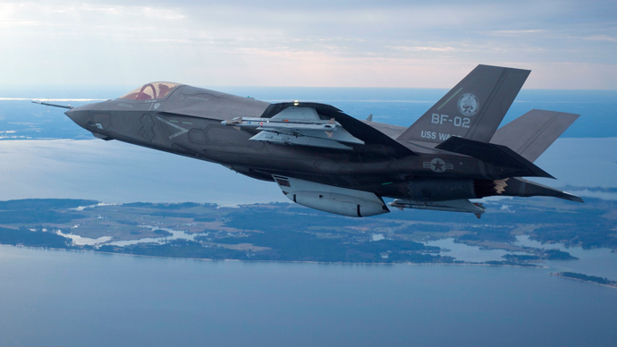 Man charged with attempting to smuggle F-35 blueprints to Iran