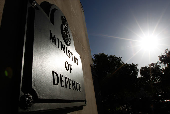 The Ministry of Defence building is seen in London.(Reuters / Suzanne Plunkett)