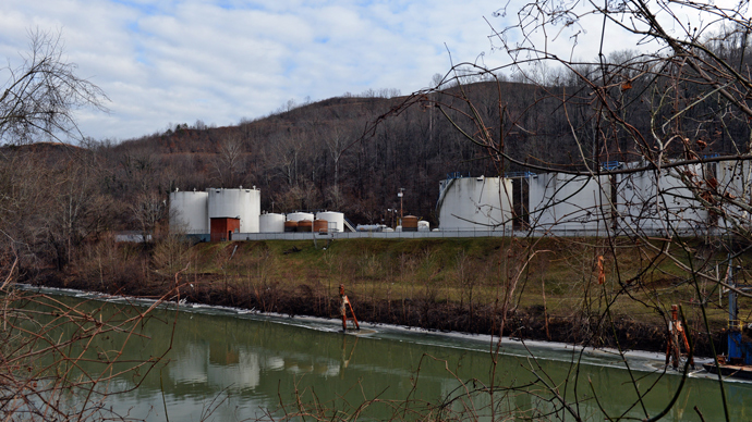 ​Single cinder block was used to contain toxic chemical prior to mass W. Virginia spill