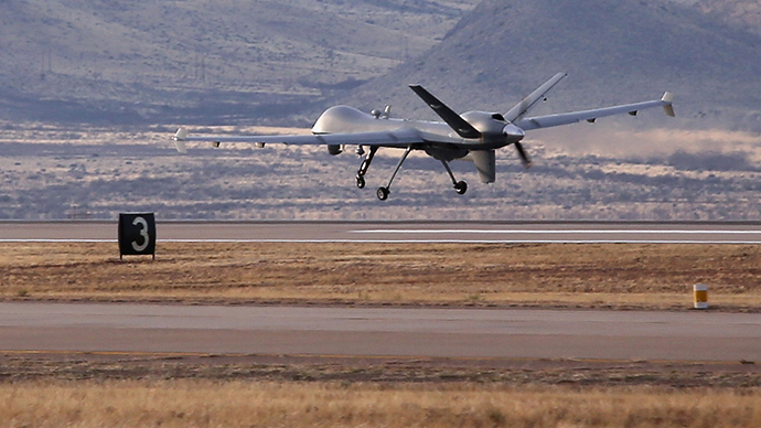 Drone surge: Predators patrol nearly half of US-Mexico border
