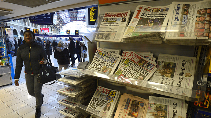 ​Global media watchdogs to investigate press freedom in the UK