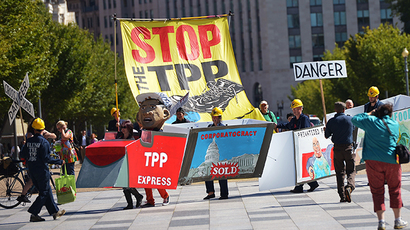 Obama's TPP negotiators received huge bonuses from big banks