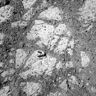 Photo of the area near Mars rover Opportunity on Sol 3540 taken by Opportunity Panoramic Camera. Image credit: NASA