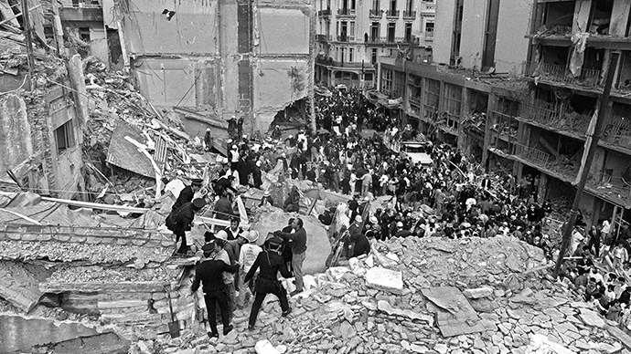 Tehran accuses Tel Aviv of 'state terrorism' after claims Israel killed 1994 Argentina bombing perpetrators