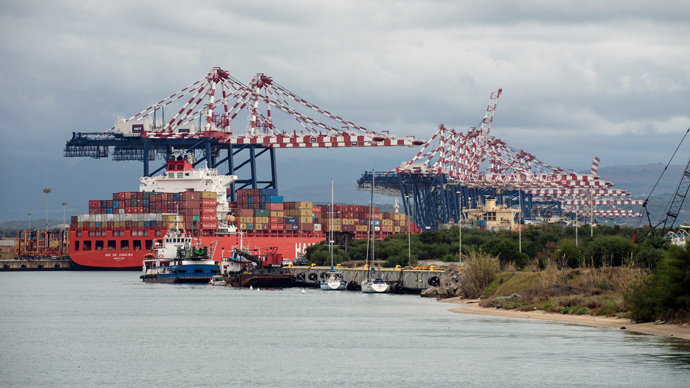 Syria chemical destruction plan to go ahead despite Italian port city protest