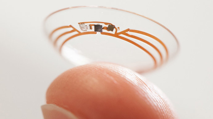 Google glucose-monitoring contact lens project unveiled