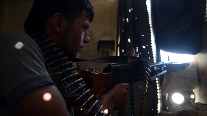 AFP Photo / Louai Abo Al-Jo