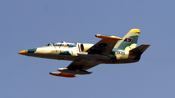 Libyan air force attacks targets in south after gunmen storm airbase