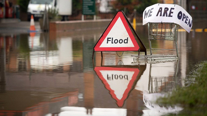 Deluge dilemma: UK lacks flood funds to protect both town & country