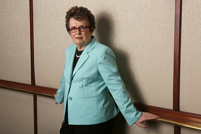 Former tennis player Billie Jean King (Reuters / Mario Anzuoni)