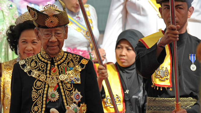 The 14th king of Malaysia, Sultan Abdul Halim Mu'adzam Shah (AFP Photo)