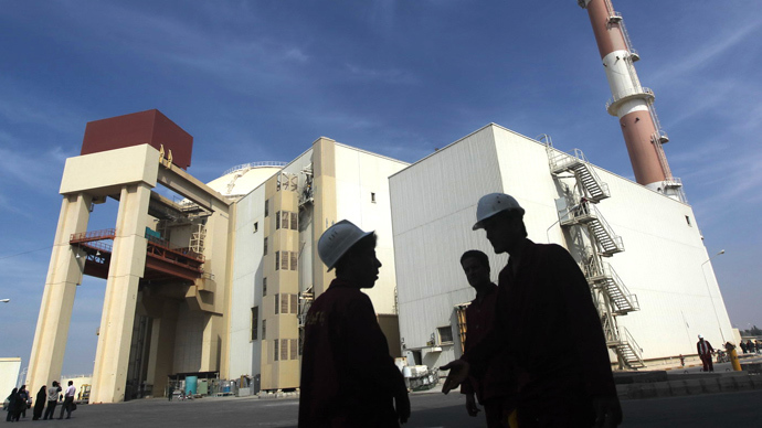 The reactor building at the Russian-built Bushehr nuclear power plant in southern Iran (AFP Photo)