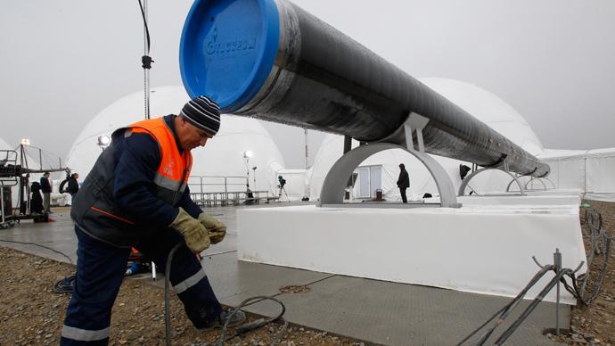 EU gives Gazprom preliminary 'OK' for South Stream gas pipeline