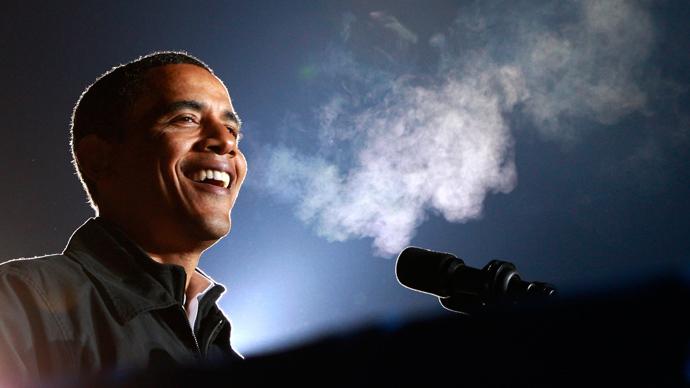 Pot tolerance: Obama says marijuana 'same as alcohol or cigarettes'