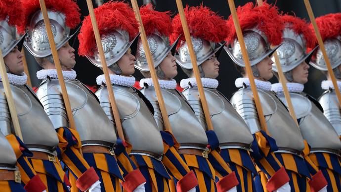 Veteran guard claims 'secret gay society' inside Vatican is a security threat