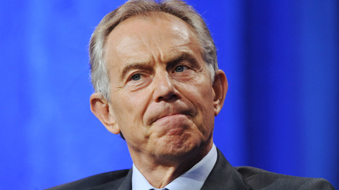 London barman attempts citizen's arrest on ex-UK PM Blair over Iraq 'war crimes'