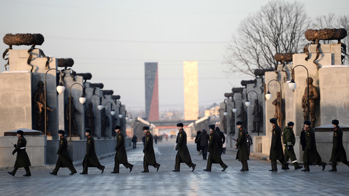 The Federal Military Memorial Cemetery in Mytishchi. (RIA Novosti/Ramil Sitdikov)