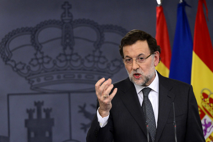 Spanish Prime Minister Mariano Rajoy (AFP Photo)