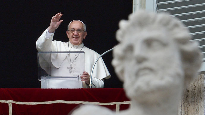 Pope to Davos elite: 'Humanity must be served by wealth, not ruled by it'