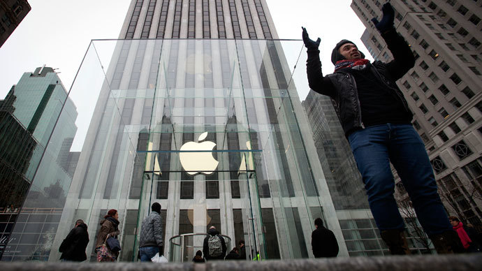 Apple accused of selling customers' personal information