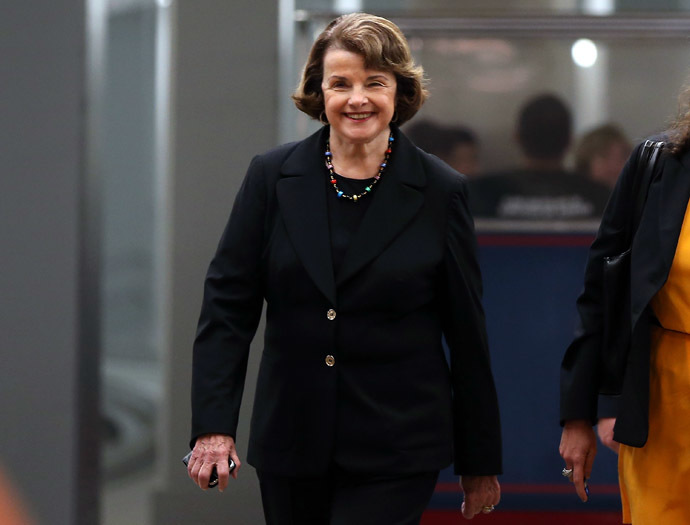 Chairman Diane Feinstein (D-CA) (Mark Wilson/Getty Images/AFP)