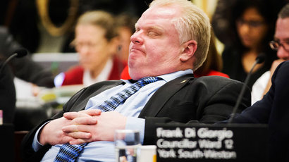 'Rehab is amazing!' Toronto Mayor Rob Ford says after going missing for week