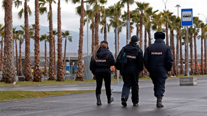 Fake Olympic terrorist threats antagonize Sochi security fears