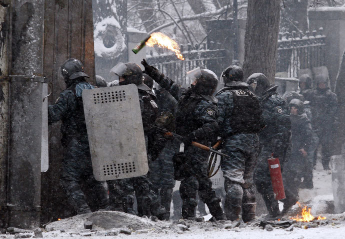 January 22, 2014 ( AFP Photo / Yuriy Kirnichny)