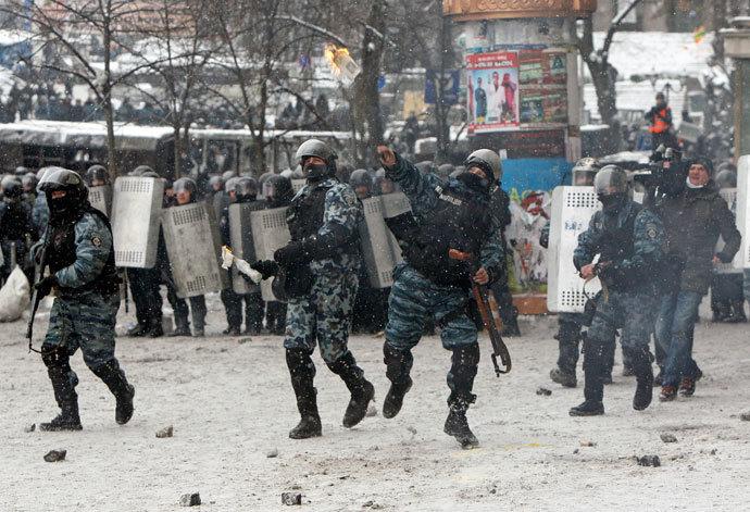 January 22, 2014 (Reuters / Gleb Garanich)