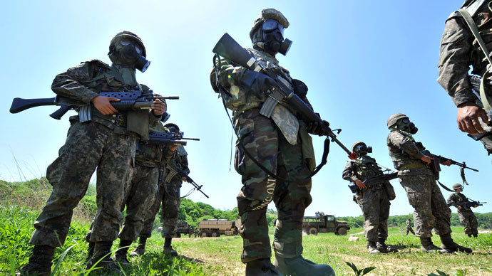 ​US, S. Korea special forces train for guerrilla warfare in N. Korea - report
