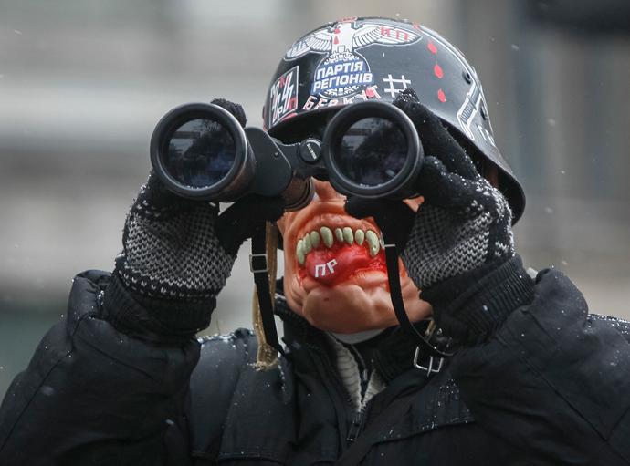 January 21, 2014 (Reuters / Gleb Garanich)
