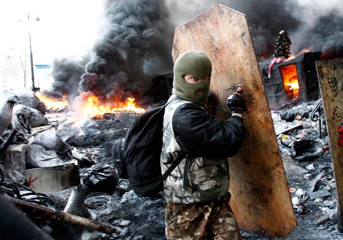 January 23, 2014 (Reuters / David Mdzinarishvili)