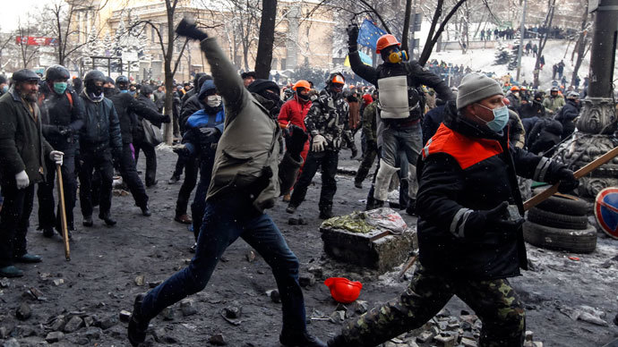 Ukraine protest pressure: Kiev faces heat from abroad & within