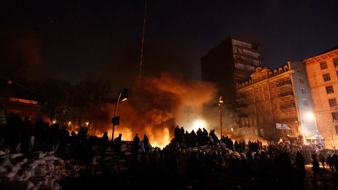 Kiev, January 24, 2014.(Reuters / David Mdzinarishvili)