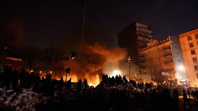 Kiev, January 24, 2014.(Reuters / David Mdzinarishvili)