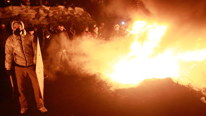 Kiev, January 24, 2014.(Reuters / Gleb Garanich)