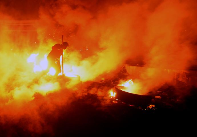 Kiev, January 24, 2014 (AFP Photo / Vasily MAaximov)