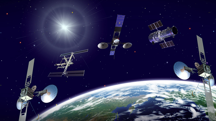 ​'Space cop' satellites to patrol Earth's orbit