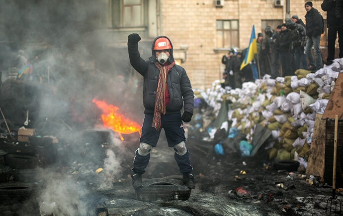 Kiev, January 24, 2014 (RIA Novosti / Andrey Stenin)