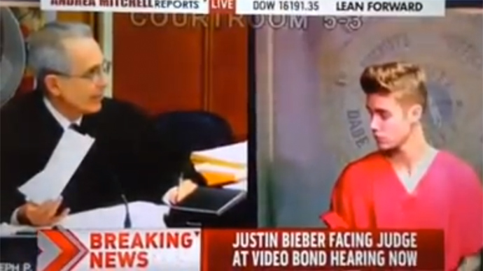 Unbebiebable! MSNBC cuts Congresswoman during NSA LIVE to report... Justin Bieber