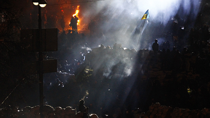 Kiev, January 24, 2014. (Reuters / David Mdzinarishvili)
